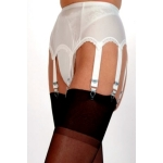 NDL10 10 Strap Suspender Belt with Lace Front